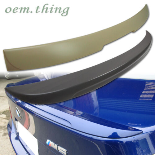 For BMW E60 5-SERIES REAR A TYPE ROOF M5 TYPE TRUNK SPOILER 10 525i 528i 535i