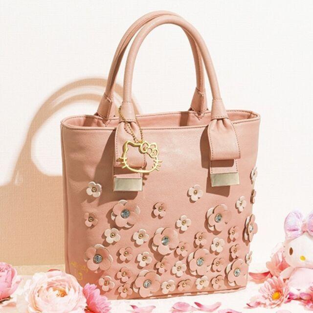 Hello Kitty Couture Shoulder Tote Bag Handbag Purse Sanrio Limited Japan O1001