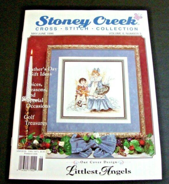 Stoney Creek Cross Stitch Collection Magazine - May/June 1996 - Vol. 8 - No. 3