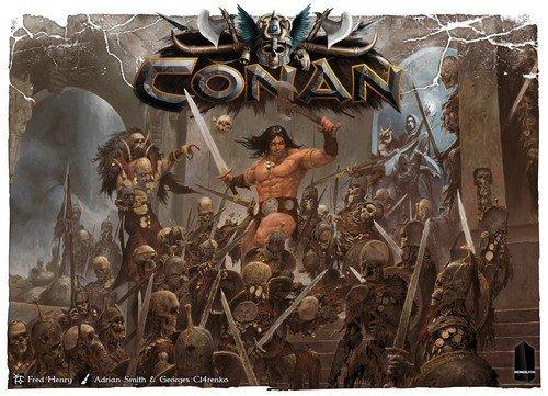 Monolith Board Games CON01 Conan Game