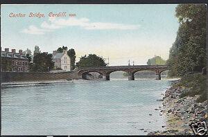 Wales-Postcard-Canton-Bridge-Cardiff-Glamorgan-A6081