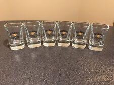 Jack Daniels Tennessee Honey Shot Glasses  - Set of 6 -NEW