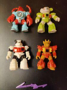 4-Hasbro-Takara-Battle-Beasts-Action-Figures-1986-1987-Rare-Lobster-Weapon