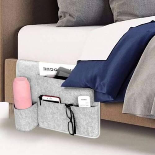 Felt Bedside Cute Organizer Bed Pocket Hanging Storage Bag Phone Book Holder SL