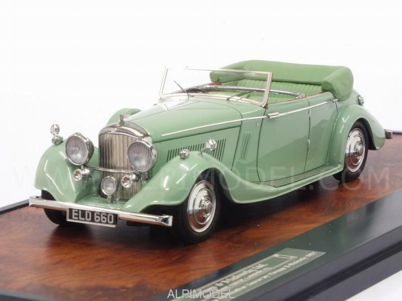 Bentley 4-1 4 Litre All-Weather Tourer 1937 by Thrupp - 1 43 MATRIX MX40201-131