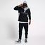 Nike-Air-Jordan-Wings-Mens-Anorak-Wind-Braker-Jacket-Large-Black-Grey-Pullover thumbnail 1