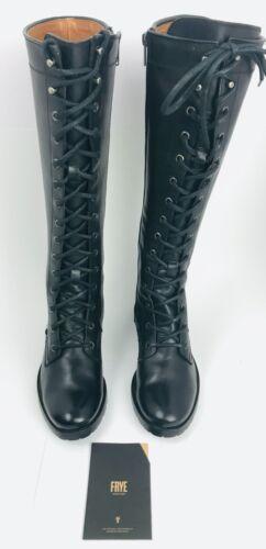 FRYE Women/'s Melissa Tall Lace Boot Black US 7