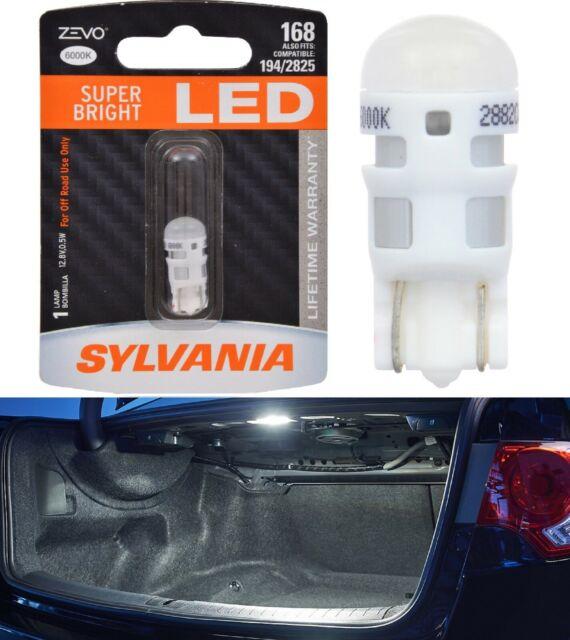Sylvania ZEVO LED light 168 White 6000K One Bulb Trunk Cargo Replacement Stock