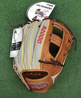 "Sporting Goods Baseball & Softball Wilson A2000 11.75"" Dp15gm Pedroia Infield Baseball Glove Wta20rb19dp15gm"