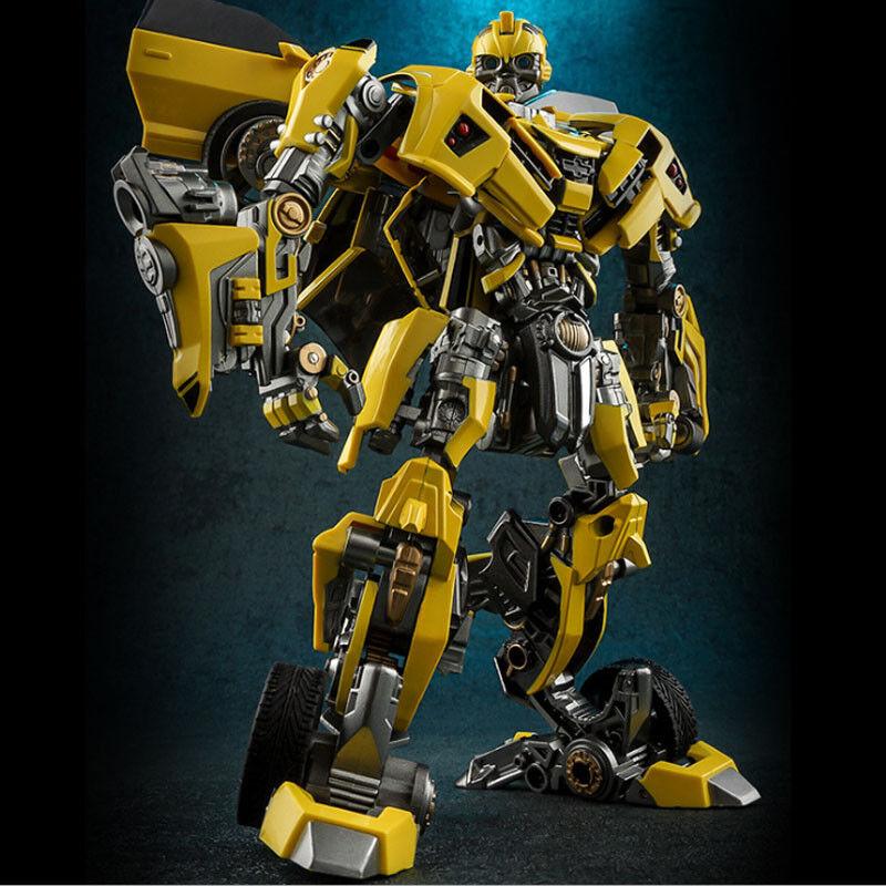 Sur-vente Transformers le dernier chevalier Alliage Bumblebee voiture Déformation Robot Toys