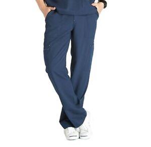Nuevo Con Etiquetas Higos Scrubs Para Hombres Pantalones Cargo Tela Bottoms Azul De Medianoche Xs Ebay