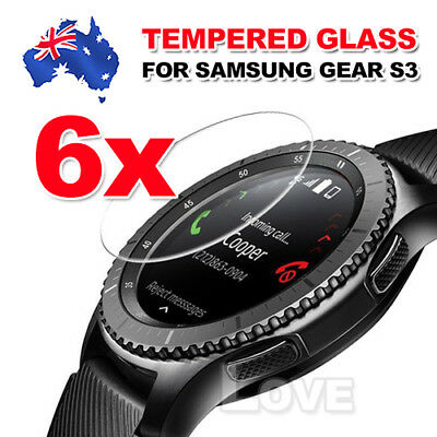 6x Tempered Glass Screen Protector for Samsung Gear S2 S3 Frontier S2 Classic 3G