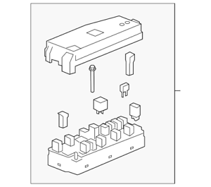 genuine gm fuse box 25966734 | ebay  ebay