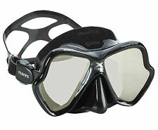 Mares X-vision Liquid Skin Two Window Mask Silver Lens