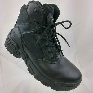 8f717bcad18 Magnum Boots Mens Stealth Force 6.0 Size US 7 Black Police Military ...