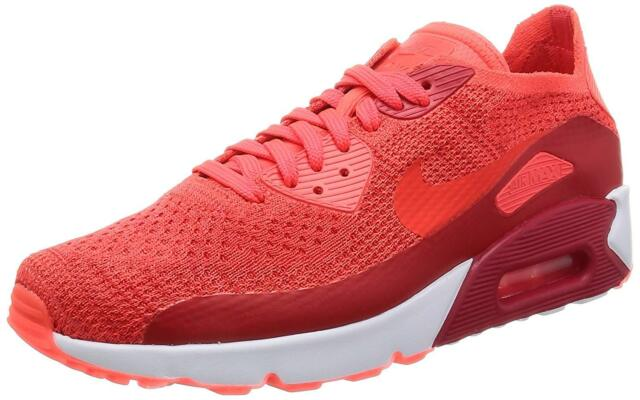 9730d8963fa1 Nike Air Max 90 Ultra 2.0 Flyknit Sz 13 Bright Crimson White for ...