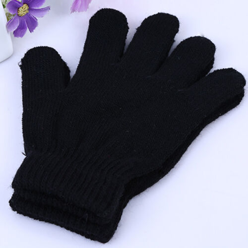 Kids Magic Gloves /& Mittens Kid Girl Boys Stretchy Knitted Winter Warm Gloves