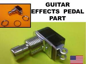 custom guitar parts replacement guitar effects pedal part momentary switch ebay. Black Bedroom Furniture Sets. Home Design Ideas