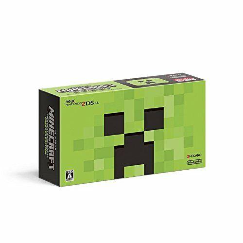 Nintendo 2DS XL Ll Minecraft Versión Nuevo de Japón