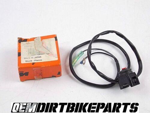 KTM KILL Switch Off Button Wiring Short Circuit OEM Genuine Handlebar Control