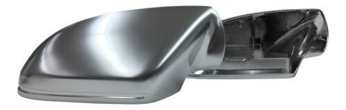 Für Audi A6 S6 RS6 4G C7 KOMPLETTE Gehäuse ALU Look Spiegel Kappen Außenspiegel