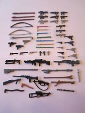 57 Vintage Star Wars Weapons Figures Lot