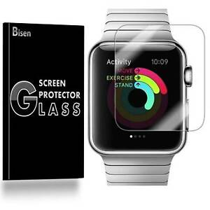 2-PACK-Tempered-Glass-Screen-Protector-For-Apple-Watch-Series-6-5-4-44-mm