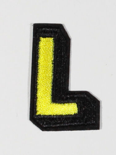 Embroidery alphabet patches Iron on Sew on  *Buy 1 get 1 30/% Off *#1