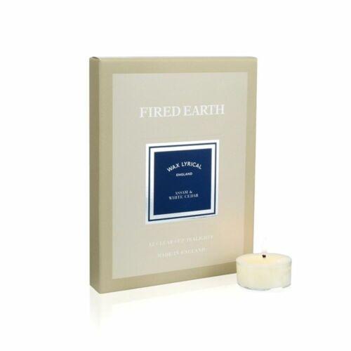 Wax LYRICAL  Mini  12 Tea Candles Assam /& White Cedar