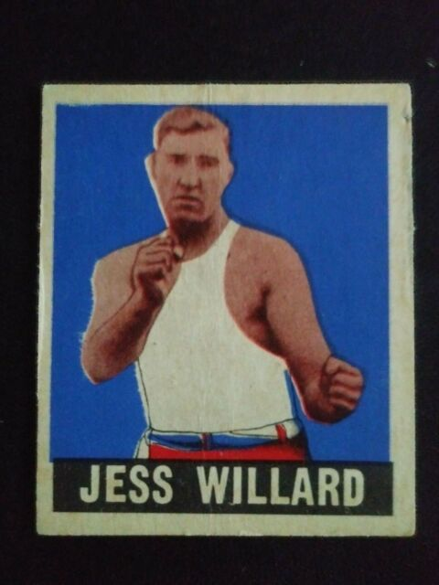 1948 Leaf Boxing Card # 69 Jess Willard (HOF)