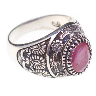 Handmade Sterling Silver 925 Persian Persia Farvahar Farovahar Zoroastrian Ring