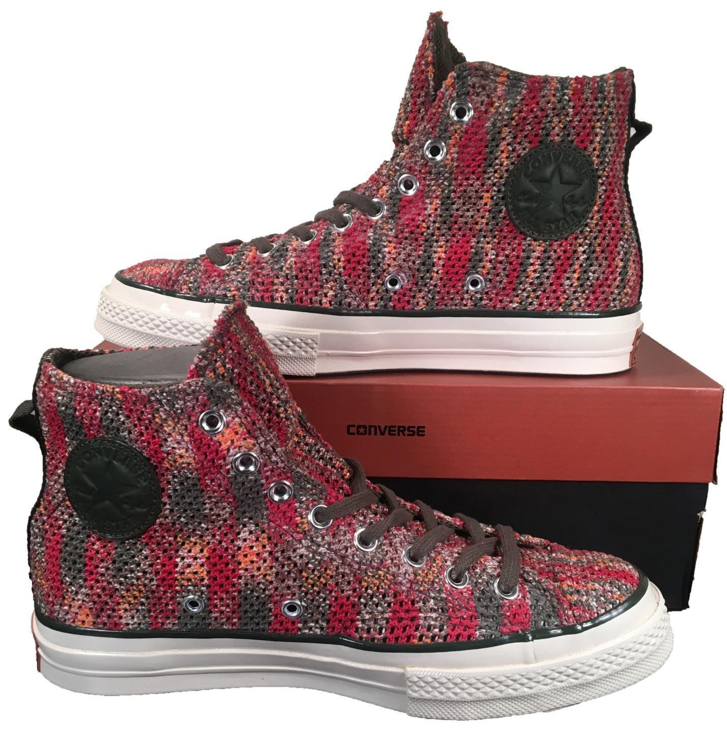 Converse by Missoni Chuck Taylor All Star 1970 Hi Top Knitted  200 153105C RARE