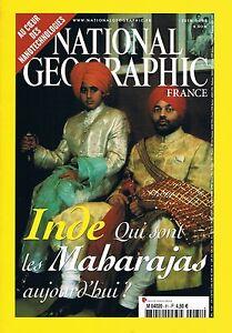 Bon CœUr National Géographic N° 81 - Football Maharajas Pélicans Nanotechnologies Cult Nombreux Dans La VariéTé
