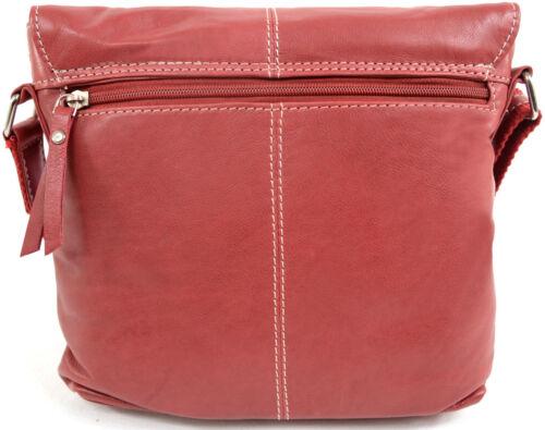 Womens Soft Premium Leather Cross Body Bag Shoulder Bag Ladies