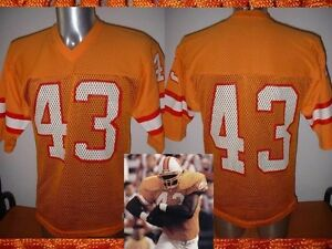 54416b10 Details about Tampa bay Buccaneers 43 Shirt Jersey Sand-Knit Vintage NFL  Football M USA Top