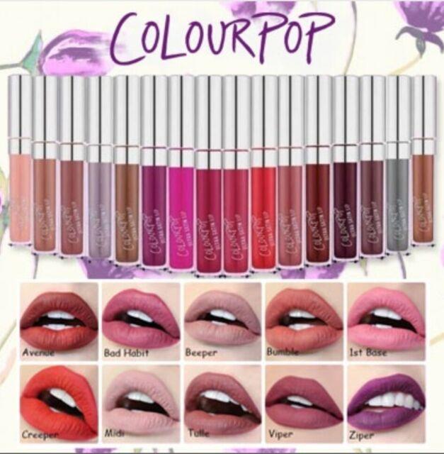 COLOURPOP Ultra Matte Lip in ARE & BE