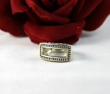 Sterling Silver Unique Open 10g  Ring Size 7  FERAL CAT RESCUE