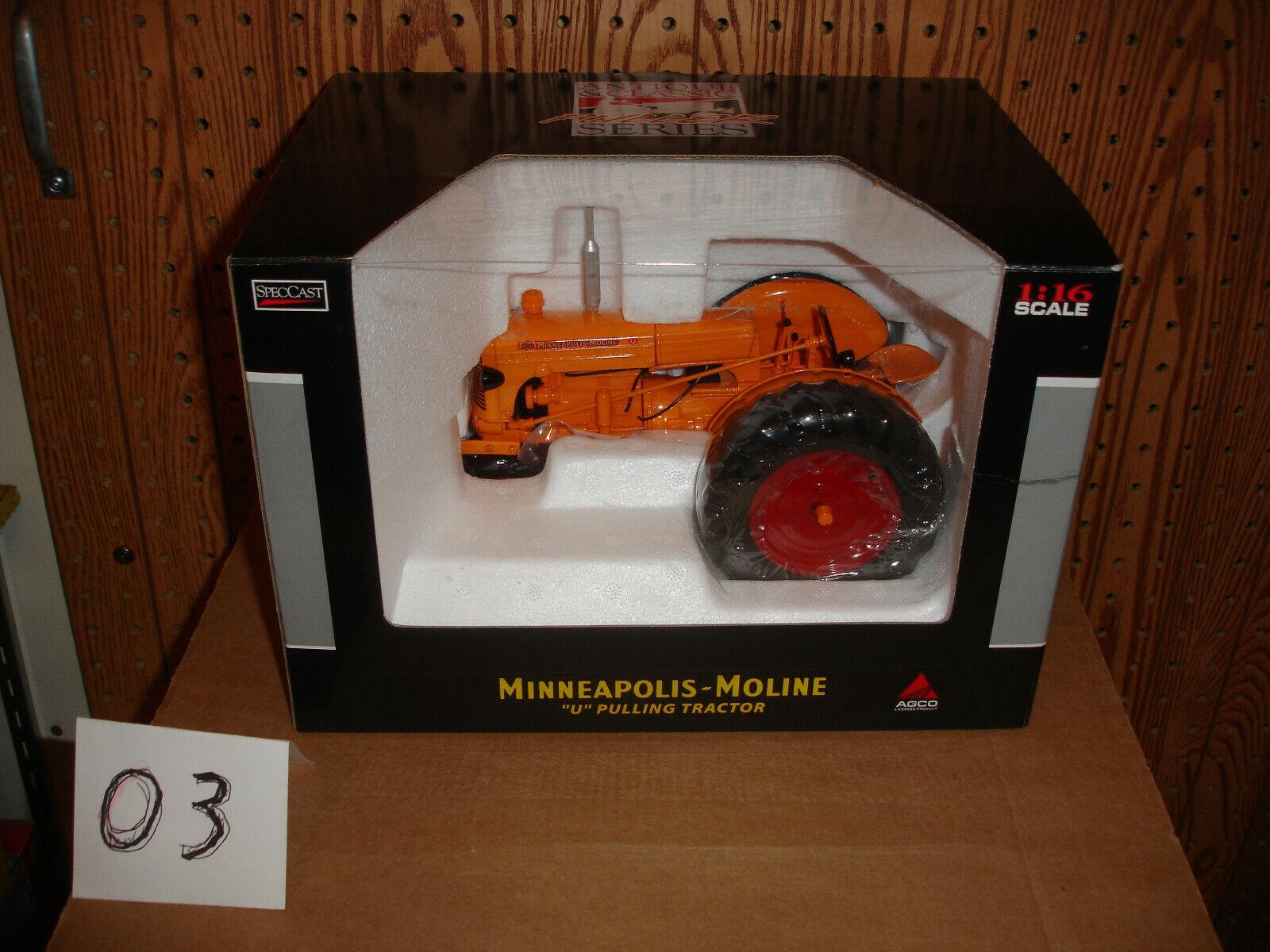 1 16 MINNEAPOLIS MOLINE U Pulling tracteur