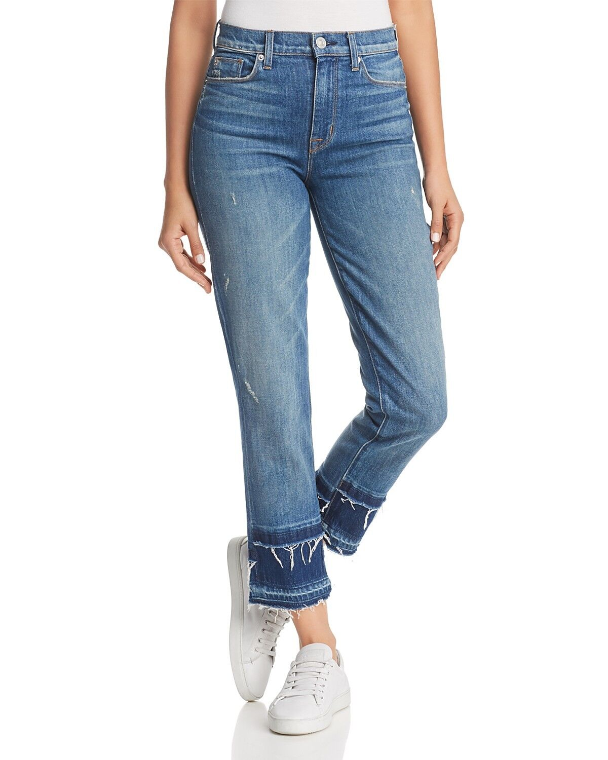 HUDSON Zoeey Women's Jeans High Rise Straight Crop Sz 30 NWT  C1