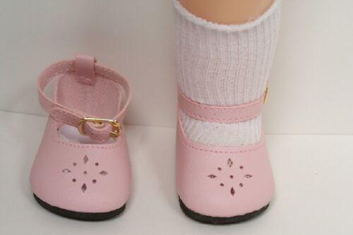 "Debs LT PINK Diamond-Cut Doll Shoes For Knickerbocher/'s 16/"" Terri Lee"