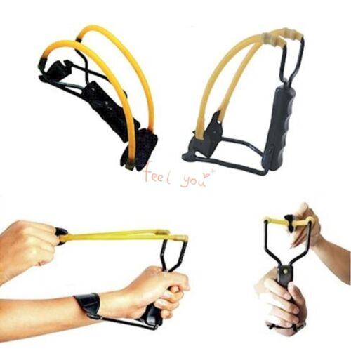 Wrist-lock catapultare maniglia Grip Slingshot Tiro Caccia Campeggio Outdoor