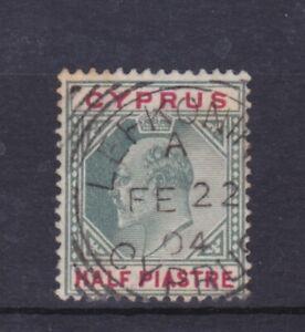 CYPRUS-KEVII-1904-LEFKONIKO-KILLER-RURAL-POSTMARK-VERY-FINE