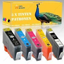 5x Nicht-OEM Tintepatronen alternative für HP Photosmart B109A B8550 364XL RE07