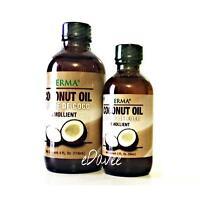 Coconut Oil Emollient For Hair, Nail & Skin -aceite De Coco Para Cuerpo Y Pelo