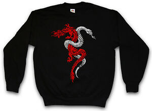 Dragon Sign Snake Dragon Maglione Tattoo Dragon Rpg Gioco e Snake e qRTEzOw