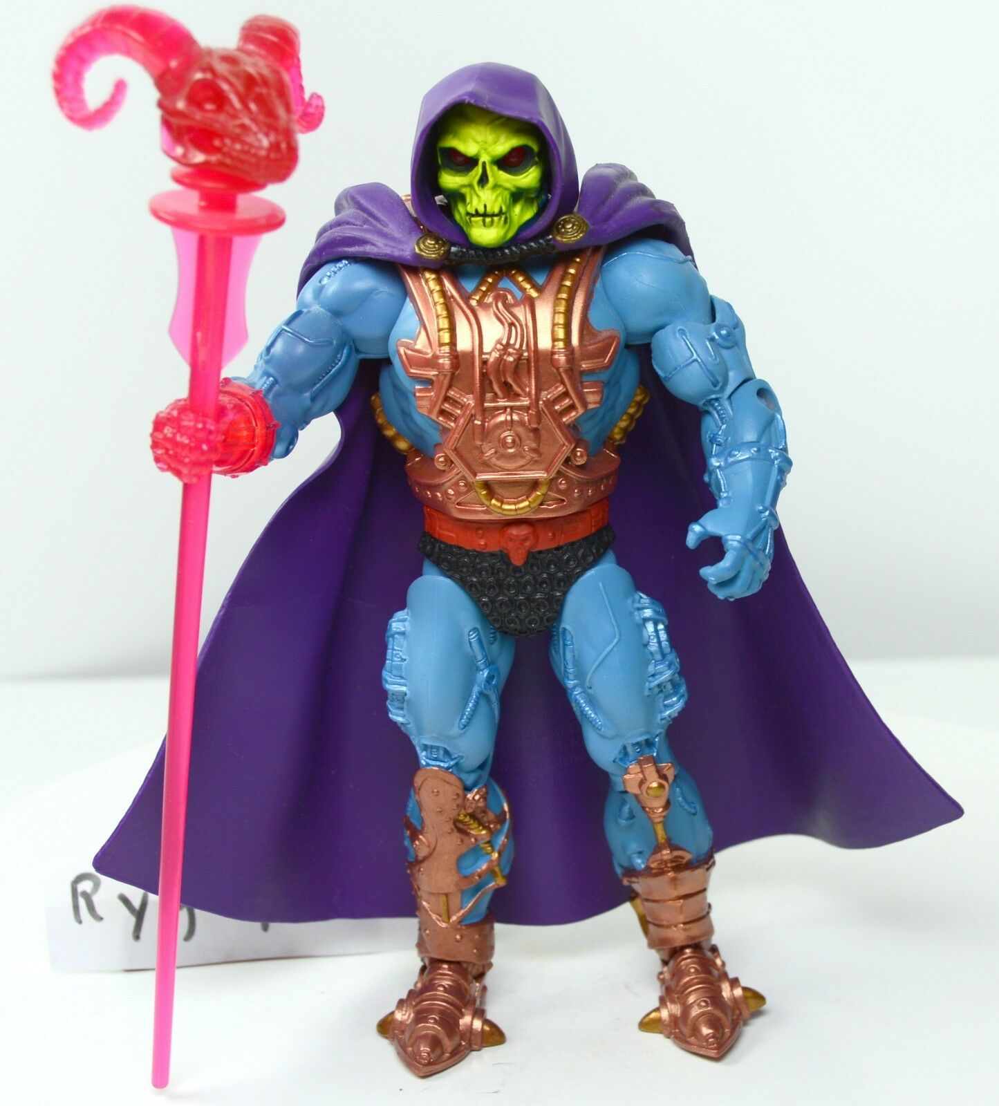 MOTUC, Laser Light Skeletor, figure, Masters of of of the Universe Classics, staff 21bc2a