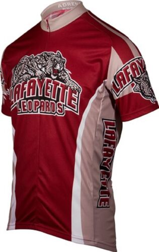 NCAA Men/'s Adrenaline Promotions Lafayette College Leopards Cycling Jersey
