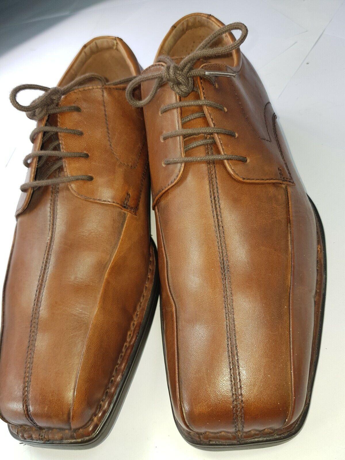 CLARKS FLEX 24/7 Brown Lace-up Mens Shoes UK 7 - VGC