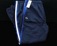 BWT LACOSTE XH7837 SPORT TENIS NAVY/ BLUE TRACK-PANTS TRACKSUIT BOTTOMS SIZE 5/L