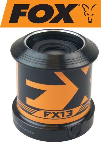 E-Spule für Angelrolle Fox FX13 Ersatzspule Spare Spool shallow